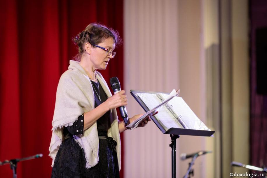 """conf. dr. Maria Alexandru de la Universitatea """"Aristotel"""" din Salonic – Grecia, membră a comitetului științific al IBMF / foto: Oana Nechifor"""
